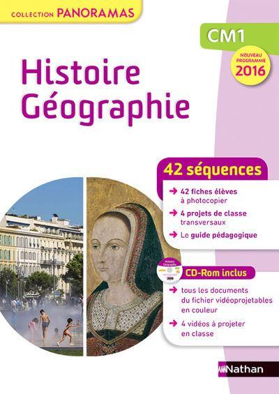 Panorama - Histoire Géographie - Fichier - CM1 + CD