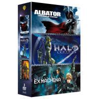 Albator, corsaire de l'espace, Halo Legends, Appleseed Ex Machina Coffret DVD