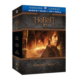 Bilbo le HobbitLe Hobbit : La Trilogie (Version longue) - Coffret Blu-ray 3D + Blu-ray + DVD