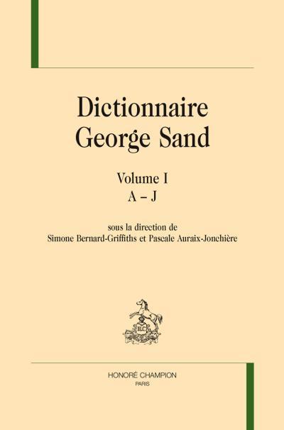 Dictionnaire de George Sand