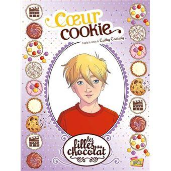 Les filles au chocolatCœur de cookie