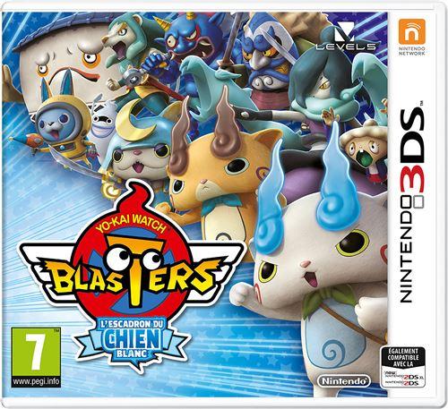 Yo-Kai Watch Blasters : Lescadron du chien blanc 3DS