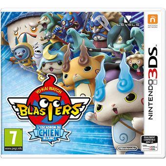 Yo-Kai Watch Blasters : L'escadron du chien blanc 3DS