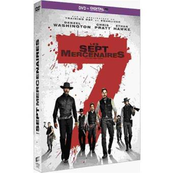 Les Sept mercenaires DVD