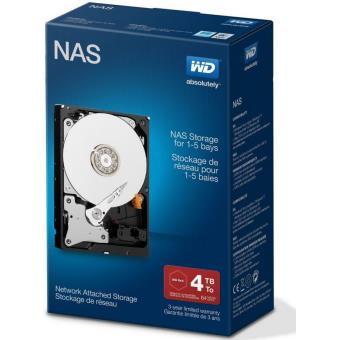 WD NAS WDBMMA0040HNC - vaste schijf - 4 TB - SATA 6Gb/s