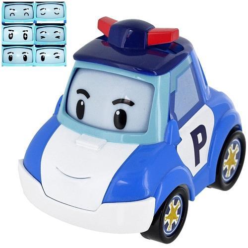 Display Robocar véhicule roul´ tes yeux 100% fidèles aux héros de la série ! Un véhicule en roues libres, aux formes arrondies. 6 humeurs différentes. Longueur: 11 cm