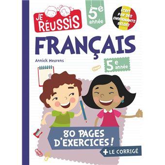 Je Reussis Francais 5eme Annee