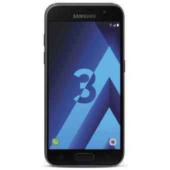 smartphone samsung galaxy a3 2017 16 go noir smartphone achat prix fnac. Black Bedroom Furniture Sets. Home Design Ideas
