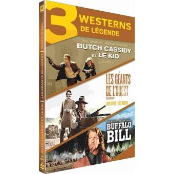 Coffret Westerns de légende DVD