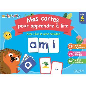Mes Cartes Pour Apprendre A Lire Avec Leon Le Herisson