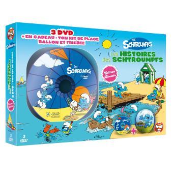 Les SchtroumpfsLes histoires des Schtroumpfs - Coffret 3 DVD