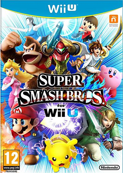 Super Smash Bros U Wii U