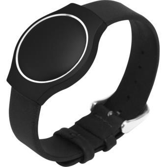 Bracelet Misfit Shine Cuir Noir