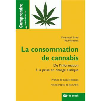 Consommation de cannabis, de l'information à la prise en charge