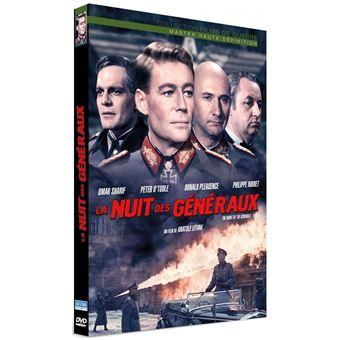 La nuit des généraux DVD