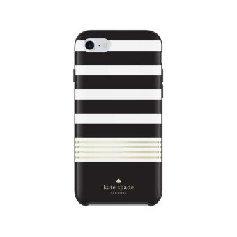 coque incipio kate spade new york pour iphone 7 plus blanc et noir etui pour t l phone mobile. Black Bedroom Furniture Sets. Home Design Ideas