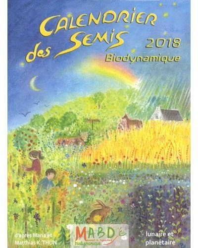 Calendrier 2018 Des semis