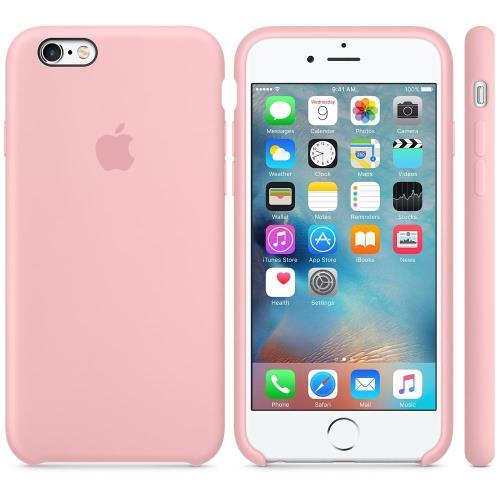 coque silicone iphone 6 rose poudre