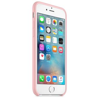Coque Apple pour iPhone 6s en silicone Rose