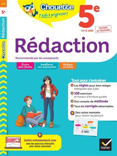 Rédaction 5e