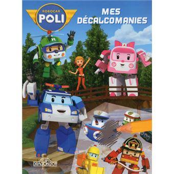 Robocar poli mes d calcomanies robocar poli roi - Poli robocar en francais ...