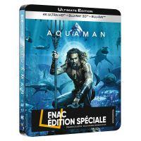 Aquaman Steelbook Edition Spéciale Fnac Blu-ray 4K Ultra HD
