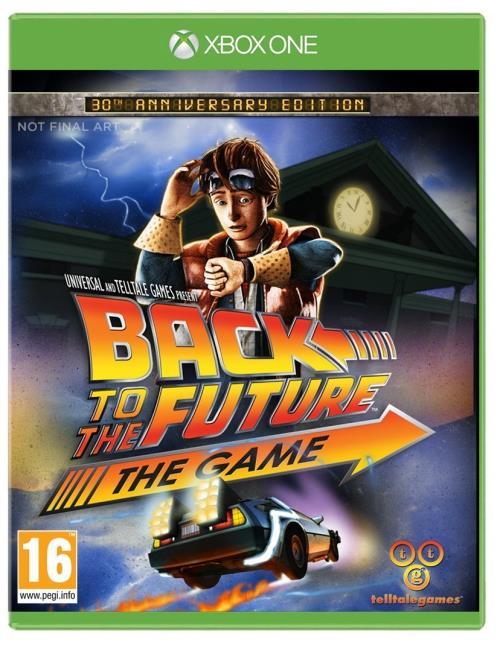 Retour Vers Le Futur 30ème Anniversaire Xbox One