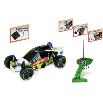 Mattel HOT WHEELS Buggy Gator Radiocommandé 1:10 (Batterie