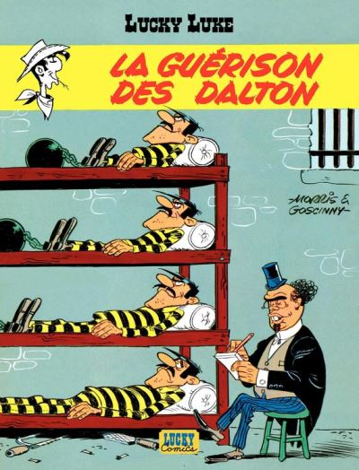 Lucky Luke - Tome 12 – La Guérison des Dalton - 9782884717304 - 5,99 €