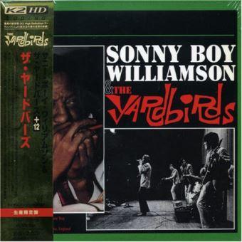 Sonny Boy Williamson and The Yardbirds - Pochette cartonnée