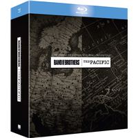 Band of Brothers + The Pacific Coffret  Blu-ray