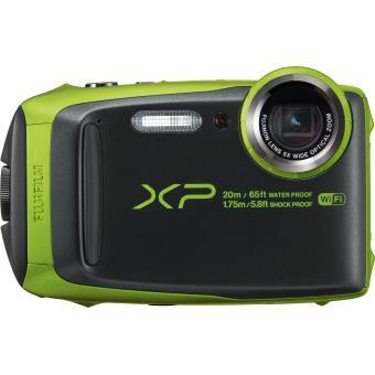15% sur appareil photo compact fujifilm finepix xp120 vert citron