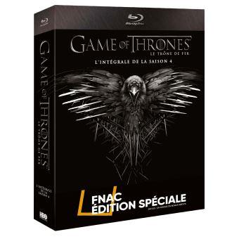 Le trône de ferGame of Thrones Coffret intégral de la Saison 4  Edition spéciale Fnac Blu-Ray