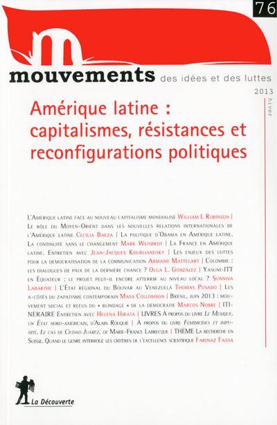 Capitalismes : résistances et reconfigurations en Amérique latine