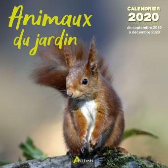Calendrier 2020 Animaux.Calendrier Animaux Du Jardin 2020