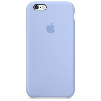 coque iphone 6 silicone apple bleu