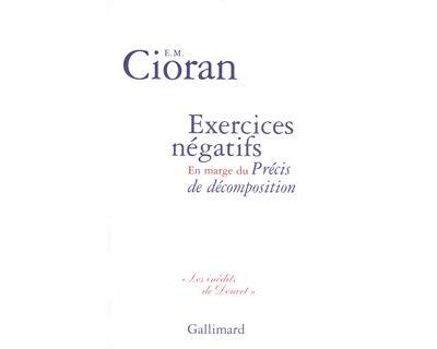 Exercices négatifs