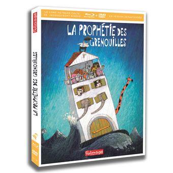 La prophétie des grenouilles Combo Blu-ray DVD