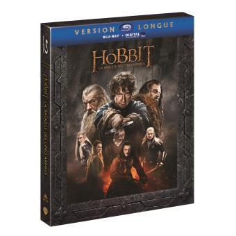 Bilbo le HobbitLe Hobbit : La bataille des cinq armées (Version Longue) – 3 Blu-ray