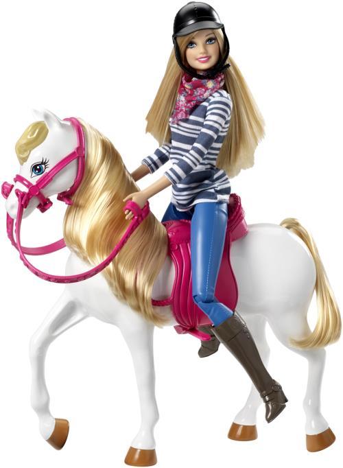 poupe barbie et son cheval poupe achat prix fnac - Barbie Cheval
