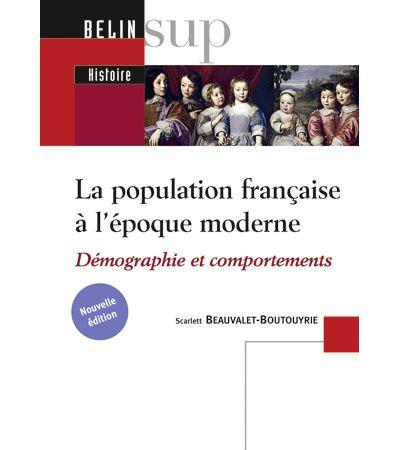 La population française à l'époque moderne (XVI-XVIIIe siècle)