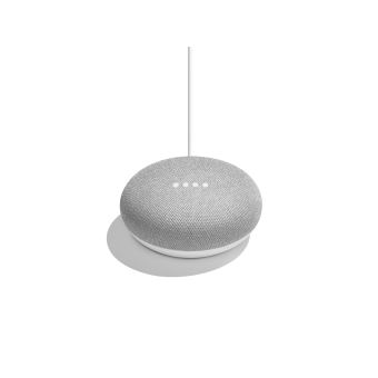 google home mini assistant vocal gris mini enceinte achat prix fnac. Black Bedroom Furniture Sets. Home Design Ideas