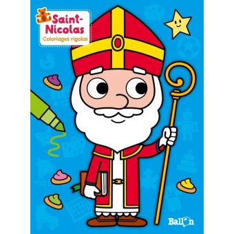 Saint Nicolas Coloriages Rigolos Broche Collectif Achat Livre Fnac