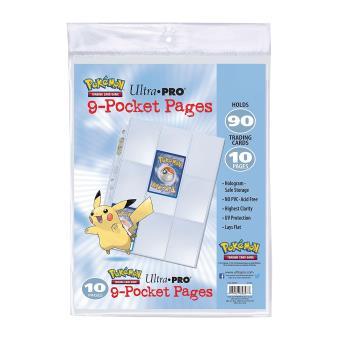 Pack de 10 feuilles de classeur Pokémon