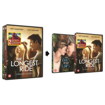 Longest ride/Fault in our stars DUO PACK-BIL
