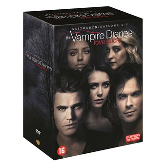 the vampire diaries the vampire diaries saisons 1 7 dvd coffret dvd dvd zone 2 kevin. Black Bedroom Furniture Sets. Home Design Ideas