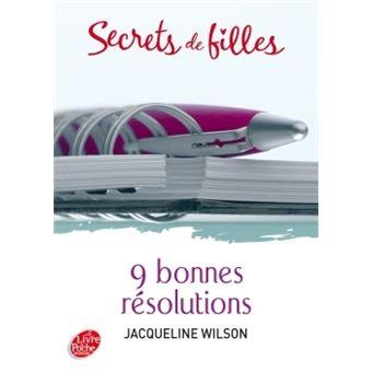 Secrets de fillesSecrets de filles - 9 bonnes résolutions