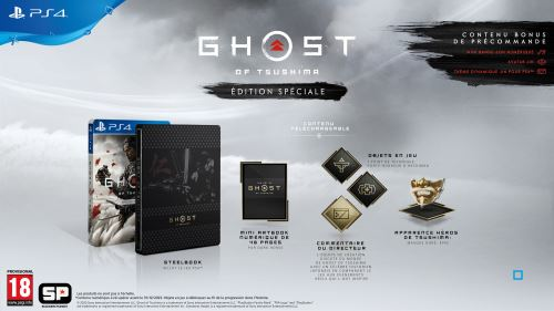 Ghost of Tsushima Edition Spéciale PS4