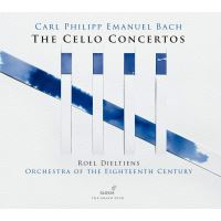 C.P.E. Bach: The Cello Concertos - CD