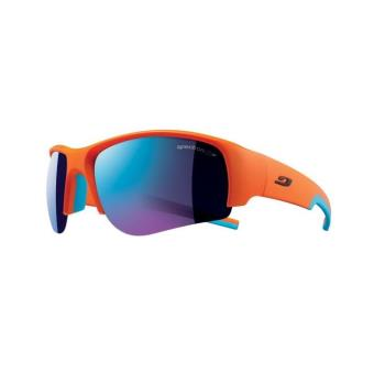 Lunettes de soleil Sport Julbo Dust Orange et Bleu - Lunettes ... 4f321a9798fc